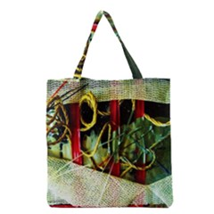 Hidden Strings Of Purity 13 Grocery Tote Bag by bestdesignintheworld