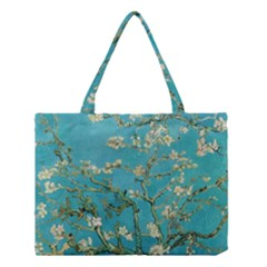 Almond Blossom  Medium Tote Bag by Valentinaart