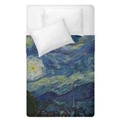 The Starry Night  Duvet Cover Double Side (single Size) by Valentinaart