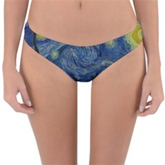 The Starry Night  Reversible Hipster Bikini Bottoms by Valentinaart