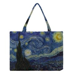 The Starry Night  Medium Tote Bag by Valentinaart
