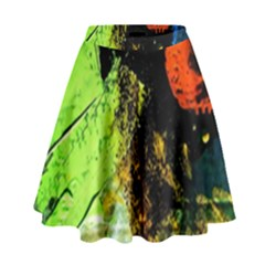 I Wonder High Waist Skirt by bestdesignintheworld