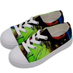 I Wonder Kids  Low Top Canvas Sneakers by bestdesignintheworld