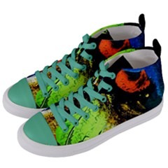 I Wonder Women s Mid Top Canvas Sneakers by bestdesignintheworld