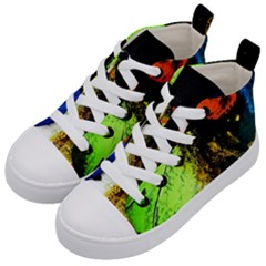 I Wonder Kid s Mid Top Canvas Sneakers by bestdesignintheworld