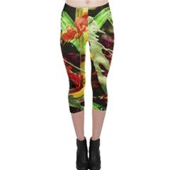 Enigma 1 Capri Leggings  by bestdesignintheworld
