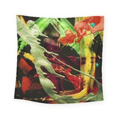 Enigma 1 Square Tapestry (small) by bestdesignintheworld