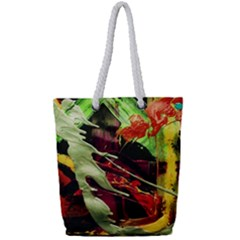 Enigma 1 Full Print Rope Handle Tote (small) by bestdesignintheworld