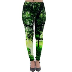 Lake Park 17 Lightweight Velour Leggings by bestdesignintheworld