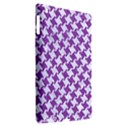 HOUNDSTOOTH2 WHITE MARBLE & PURPLE DENIM Apple iPad 3/4 Hardshell Case (Compatible with Smart Cover) View2