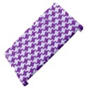 HOUNDSTOOTH2 WHITE MARBLE & PURPLE DENIM Apple iPad 3/4 Hardshell Case (Compatible with Smart Cover) View4