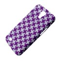HOUNDSTOOTH2 WHITE MARBLE & PURPLE DENIM Samsung Galaxy Mega 6.3  I9200 Hardshell Case View4