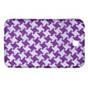 HOUNDSTOOTH2 WHITE MARBLE & PURPLE DENIM Samsung Galaxy Tab 3 (7 ) P3200 Hardshell Case  View1