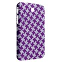 HOUNDSTOOTH2 WHITE MARBLE & PURPLE DENIM Samsung Galaxy Tab 3 (7 ) P3200 Hardshell Case  View2