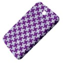 HOUNDSTOOTH2 WHITE MARBLE & PURPLE DENIM Samsung Galaxy Tab 3 (7 ) P3200 Hardshell Case  View4