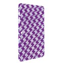 HOUNDSTOOTH2 WHITE MARBLE & PURPLE DENIM Samsung Galaxy Tab 2 (10.1 ) P5100 Hardshell Case  View2