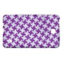 HOUNDSTOOTH2 WHITE MARBLE & PURPLE DENIM Samsung Galaxy Tab 4 (7 ) Hardshell Case  View1