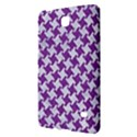 HOUNDSTOOTH2 WHITE MARBLE & PURPLE DENIM Samsung Galaxy Tab 4 (7 ) Hardshell Case  View2