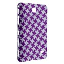 HOUNDSTOOTH2 WHITE MARBLE & PURPLE DENIM Samsung Galaxy Tab 4 (7 ) Hardshell Case  View3