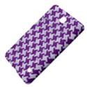 HOUNDSTOOTH2 WHITE MARBLE & PURPLE DENIM Samsung Galaxy Tab 4 (7 ) Hardshell Case  View4