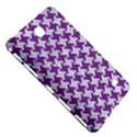 HOUNDSTOOTH2 WHITE MARBLE & PURPLE DENIM Samsung Galaxy Tab 4 (7 ) Hardshell Case  View5