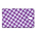 HOUNDSTOOTH2 WHITE MARBLE & PURPLE DENIM Samsung Galaxy Tab S (8.4 ) Hardshell Case  View1