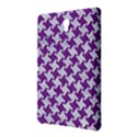 HOUNDSTOOTH2 WHITE MARBLE & PURPLE DENIM Samsung Galaxy Tab S (8.4 ) Hardshell Case  View2