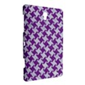 HOUNDSTOOTH2 WHITE MARBLE & PURPLE DENIM Samsung Galaxy Tab S (8.4 ) Hardshell Case  View3