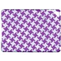 HOUNDSTOOTH2 WHITE MARBLE & PURPLE DENIM Apple iPad Pro 9.7   Hardshell Case View1