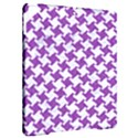 HOUNDSTOOTH2 WHITE MARBLE & PURPLE DENIM Apple iPad Pro 9.7   Hardshell Case View2