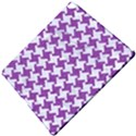 HOUNDSTOOTH2 WHITE MARBLE & PURPLE DENIM Apple iPad Pro 12.9   Hardshell Case View5