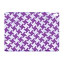 HOUNDSTOOTH2 WHITE MARBLE & PURPLE DENIM Apple iPad Pro 10.5   Hardshell Case View1