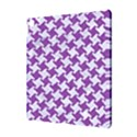 HOUNDSTOOTH2 WHITE MARBLE & PURPLE DENIM Apple iPad Pro 10.5   Hardshell Case View3