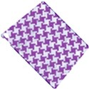 HOUNDSTOOTH2 WHITE MARBLE & PURPLE DENIM Apple iPad Pro 10.5   Hardshell Case View4
