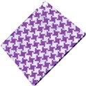 HOUNDSTOOTH2 WHITE MARBLE & PURPLE DENIM Apple iPad Pro 10.5   Hardshell Case View5