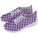 HOUNDSTOOTH2 WHITE MARBLE & PURPLE DENIM Men s Lightweight Sports Shoes View2