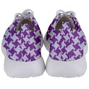 HOUNDSTOOTH2 WHITE MARBLE & PURPLE DENIM Men s Lightweight Sports Shoes View4