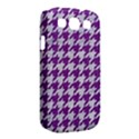 HOUNDSTOOTH1 WHITE MARBLE & PURPLE DENIM Samsung Galaxy S III Classic Hardshell Case (PC+Silicone) View2