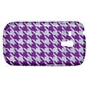 HOUNDSTOOTH1 WHITE MARBLE & PURPLE DENIM Galaxy S3 Mini View1