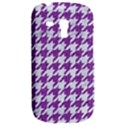 HOUNDSTOOTH1 WHITE MARBLE & PURPLE DENIM Galaxy S3 Mini View2