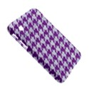 HOUNDSTOOTH1 WHITE MARBLE & PURPLE DENIM Samsung Galaxy Tab 2 (7 ) P3100 Hardshell Case  View5