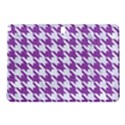 HOUNDSTOOTH1 WHITE MARBLE & PURPLE DENIM Samsung Galaxy Tab Pro 10.1 Hardshell Case View1