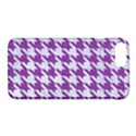 HOUNDSTOOTH1 WHITE MARBLE & PURPLE DENIM Apple iPhone 7 Plus Hardshell Case View1
