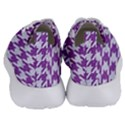 HOUNDSTOOTH1 WHITE MARBLE & PURPLE DENIM Women s Lightweight Sports Shoes View4