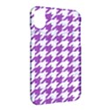 HOUNDSTOOTH1 WHITE MARBLE & PURPLE DENIM Apple iPhone X Hardshell Case View2