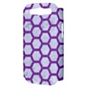 HEXAGON2 WHITE MARBLE & PURPLE DENIM (R) Samsung Galaxy S III Hardshell Case (PC+Silicone) View3