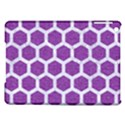 HEXAGON2 WHITE MARBLE & PURPLE DENIM iPad Air Hardshell Cases View1