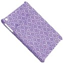 HEXAGON1 WHITE MARBLE & PURPLE DENIM (R) Apple iPad Mini Hardshell Case View5