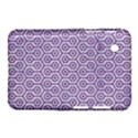 HEXAGON1 WHITE MARBLE & PURPLE DENIM (R) Samsung Galaxy Tab 2 (7 ) P3100 Hardshell Case  View1