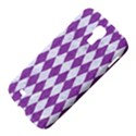 DIAMOND1 WHITE MARBLE & PURPLE DENIM Samsung Galaxy S4 I9500/I9505 Hardshell Case View4